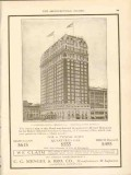 c c mengel brother company 1911 blackstone hotel chicago il vintage ad