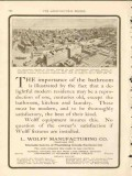 l wolff mfg company 1911 skyscraper section nw term chicago vintage ad