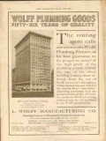 l wolff mfg company 1911 mccormick building chicago il vintage ad