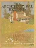 architectural record 1913 hollis li ny house vintage cover print