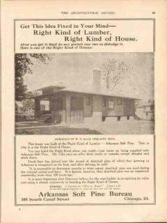 arkansas soft pine bureau 1913 wd ellis ypsilanti mi home vintage ad