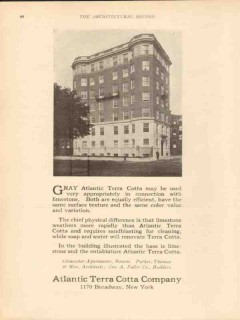 atlantic terra cotta company 1913 gloucester apts boston ma vintage ad
