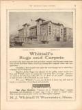 m j whittall 1913 laconia tavern laconia nh carpets rugs vintage ad