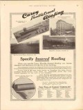 philip carey company 1913 specify insured cement roofing vintage ad
