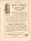 pittsburg water heater company 1913 specify a pittsburg vintage ad