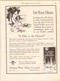 pittsburg water heater company 1913 hot water history vintage ad