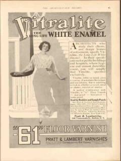pratt lambert inc 1913 architects design home of refinement vintage ad
