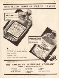american distilling company 1934 briarcliff meadwood vintage ad