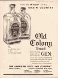 american distilling company 1934 old colony dry gin vintage ad2