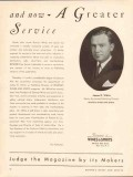 bownes wines spirits 1934 james r white publishing director vintage ad