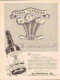 coe distributors 1934 the aristocrat is back three feathers vintage ad