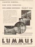 lummus company 1934 rockland distilling tenafly applejack vintage ad