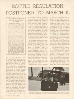 bottle regulation 1935 postponed to march 15 whiskey vintage article