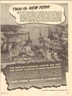 brooklyn ny naval shipyard 1947 world war ii navy yard fdr vintage ad