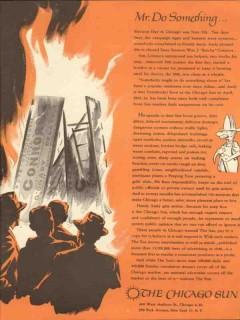chicago sun 1947 mr do something handy andy newspaper media vintage ad