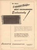 Aerofin Corp 1954 Vintage Ad Oil Make Heat Exchangers Exclusively