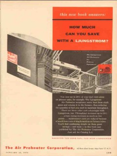 Air Preheater Corp 1954 Vintage Ad Oil Ljungstrom How Much You Save