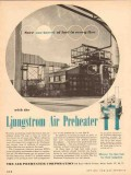 Air Preheater Corp 1954 Vintage Ad Oil Ljungstrom Save Barrell Fuel