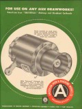 American Iron Machine Works 1954 Vintage Ad Oil Use Any Size Drawworks