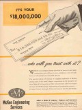 Arthur G McKee Company 1954 Vintage Ad Its 18000000 Who Will You Trust