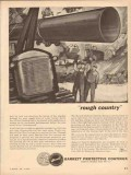 allied chemical dye corp 1954 rough country barrett coating vintage ad