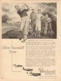 beech aircraft corp 1954 give yourself time luxury airplane vintage ad