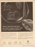 bell telephone system 1954 good close look communications vintage ad