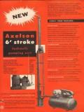 Axelson Mfg Company 1954 Vintage Ad Oil Stroke Hydraulic Pumping Unit