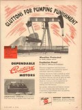 century electric company 1954 gluttons pumping punishment vintage ad