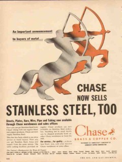 chase brass copper company 1954 important announcement vintage ad