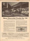 chevrolet 1954 new trucks for 54 loaded advantages you want vintage ad