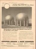 Chicago Bridge Iron Company 1954 Vintage Ad Oil Making Hay Sun Shines