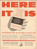 columbia-southern chemical 1954 here it is caustic soda vintage ad