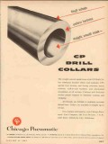 Chicago Pneumatic Tool Company 1954 Vintage Ad Oil Drill Collars Tough