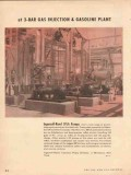 Ingersoll-Rand 1954 Vintage Ad Pumps Gas Injection Gasoline Plant SFLA