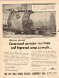 international nickel company 1954 316 corrosion resistance vintage ad