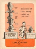 Lane-Wells Company 1954 Vintage Ad Oil Field Koneshot Both Same Money