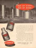 Larkin Packer Company 1954 Vintage Ad Oil Field Swage Nipples Sight