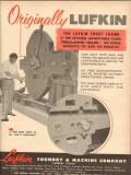 Lufkin Foundry Machine Company 1954 Vintage Ad Oil Field Trout Crank