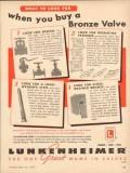 lunkenheimer company 1954 when you buy bronze valve oil gas vintage ad