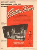 petroleum electric power assoc 1954 efficient clean job vintage ad