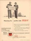Phillips Petroleum Company 1954 Vintage Ad Oil Perco Planning Profits