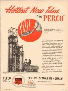 Phillips Petroleum Company 1954 Vintage Ad Oil Perco Hottest New Idea