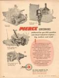 Pierce Governor Company 1954 Vintage Ad Gas LPG Gasoline Diesel Engine