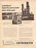 Pittsburgh Lectrodryer 1954 Vintage Ad Oil Feeds Nerve Center Dry Air