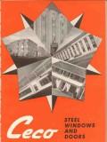 Ceco Steel Products Company 1940 Vintage Catalog Windows Casement Door