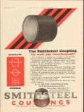 a o smith corp 1928 smithsteel coupling interchangeable vintage ad