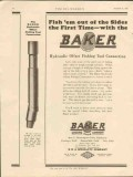 Baker Casing Shoe Company 1928 Vintage Ad Oil Hydraulic Offset Tool