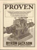 Byron Jackson Pump Mfg Company 1928 Vintage Ad Oil Centrifugal Proven