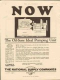 Climax Engineering Company 1928 Vintage Ad Oil Sure Ideal Pumping Now